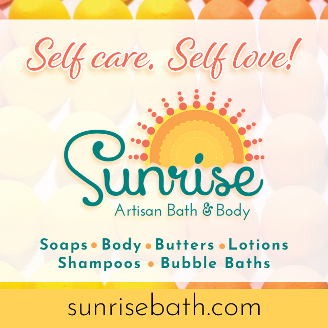 The F-Suite sponsor Sunrise Artisan Bath & Body