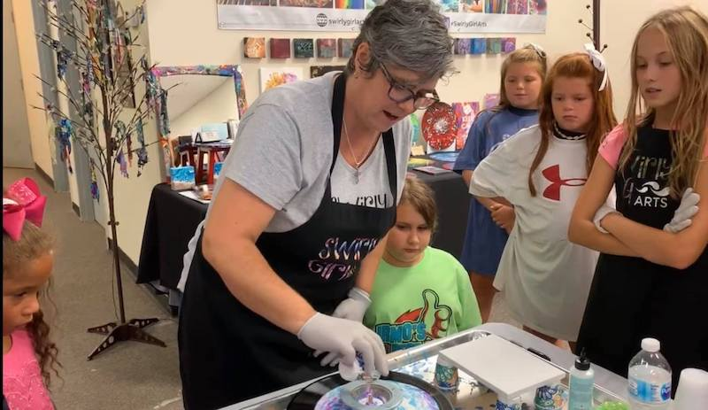 Women-owned art making speces