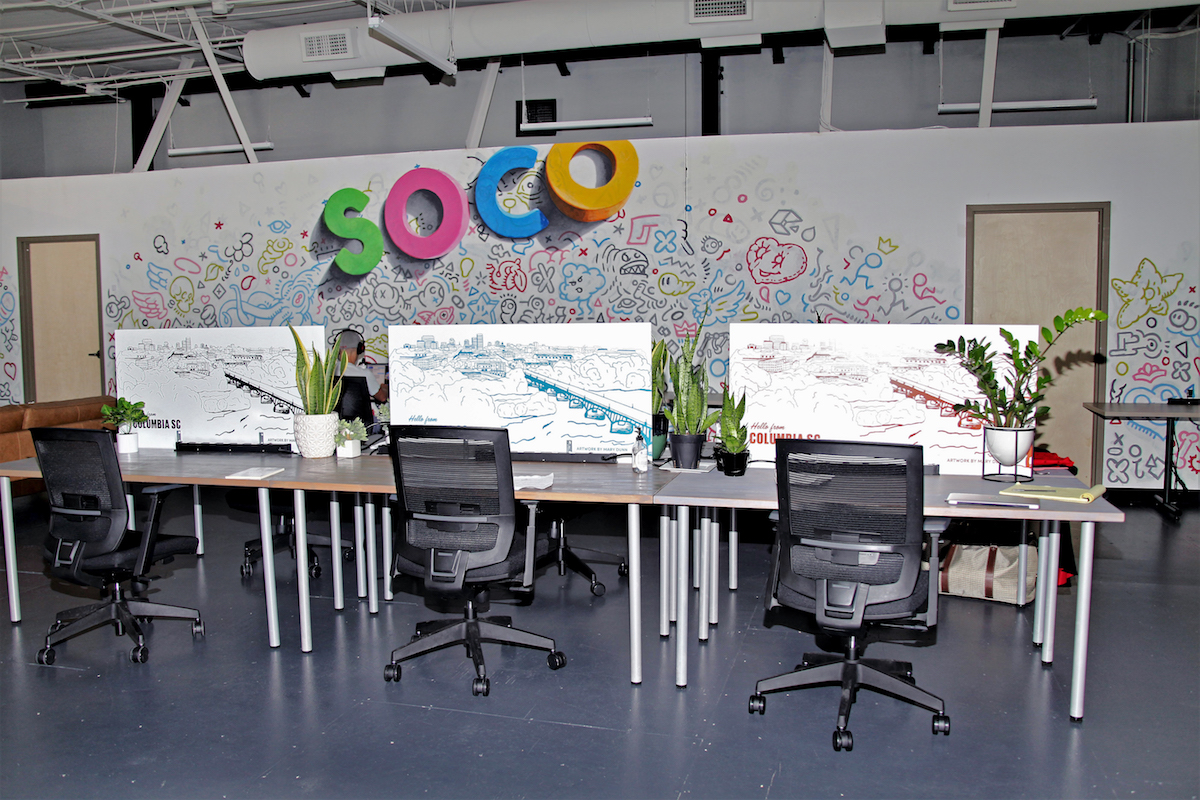 Coworking spaces during a pandemic