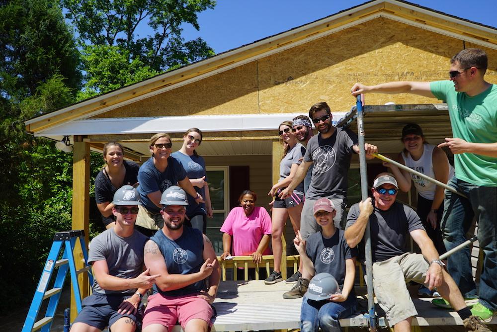 SC Habitat for Humanity Volunteers